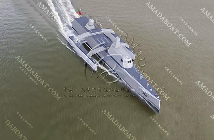 3A5525(捕鲸者)大型隐身猎潜艇