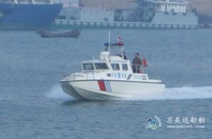 3A1000b(海 豚)双体高速巡逻艇