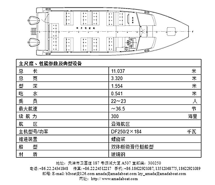 1048(小企鹅)沿海高速交通艇