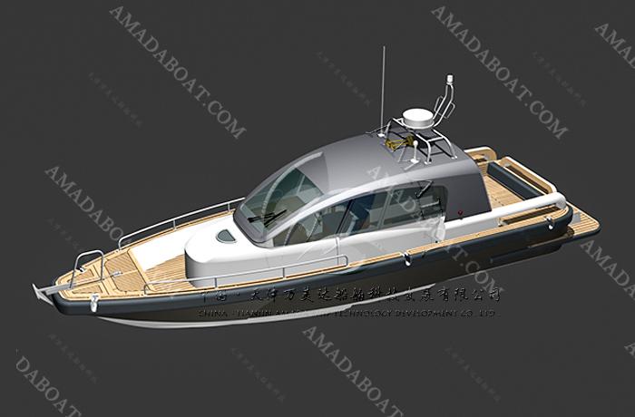 3A1095(翠 鸟)小型高速游艇