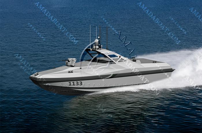 3A1133b(狼 鱼)双体近海无人艇