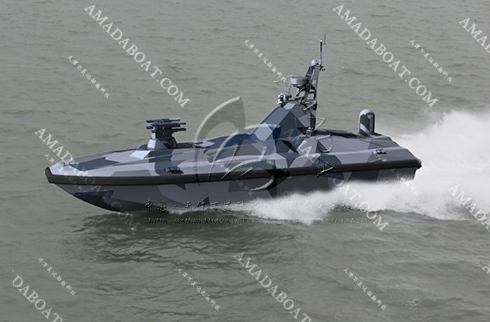 3A1134(虎 鱼)双体无人导弹艇