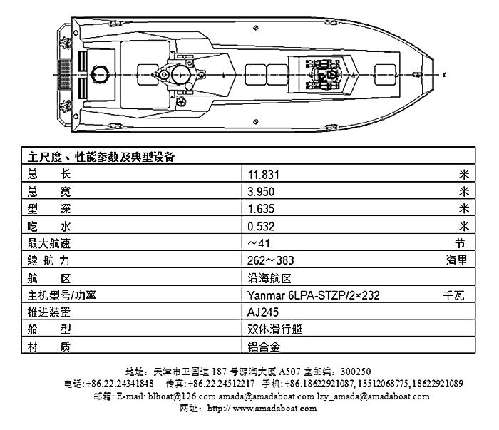 1134b(影)双体无人导弹艇