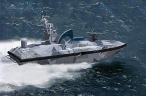 3A1134b( 影 )双体无人导弹艇