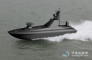 3A1143(猎 人)双体隐身无人艇