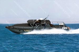 3A1188(黑 狼)沿海高速巡逻艇
