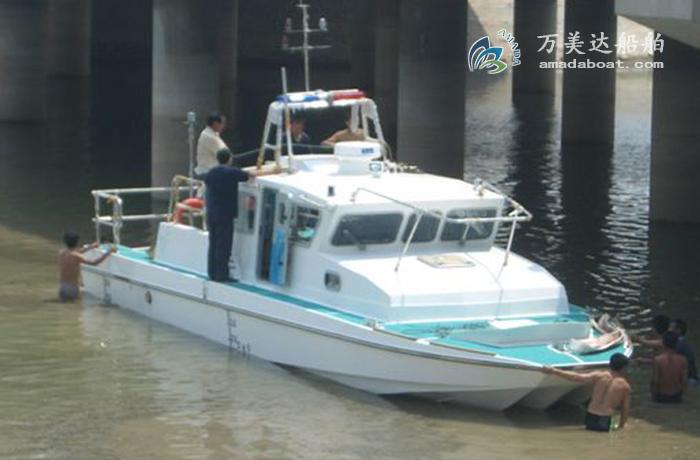 3A1190(红 鹰)三体消波巡逻艇