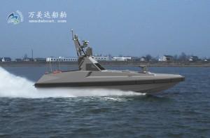 3A1200(乌 镝) 高速智能无人导弹艇