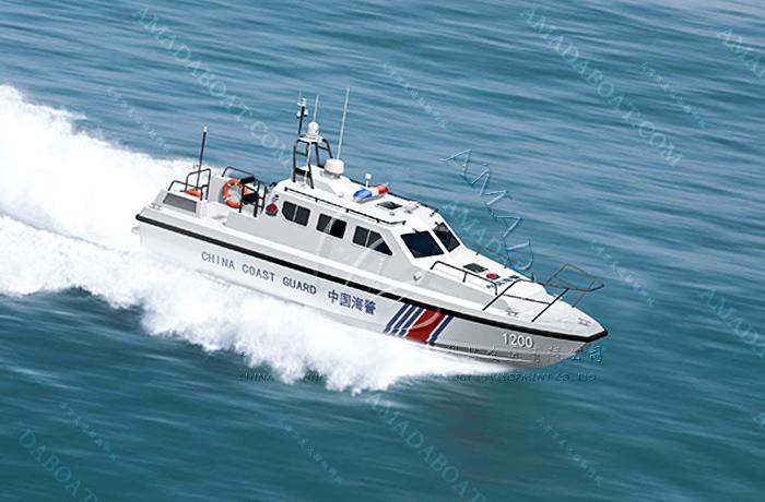 3A1200(轻 骑)海警高速巡逻艇