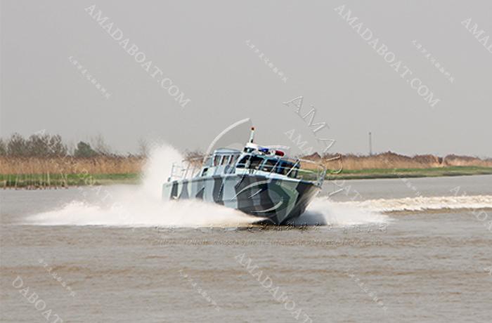 3A1200(长 啸)铝合金高速巡逻艇