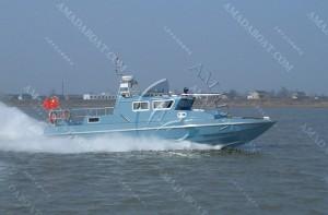 3A1206d(短吻鳄)单体高速巡逻艇