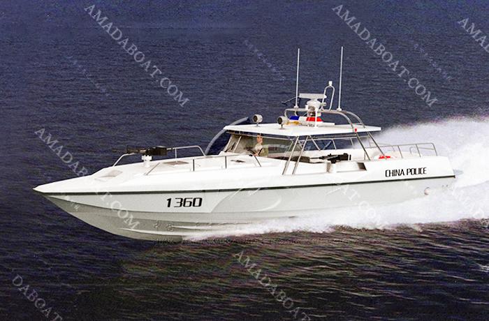 3A1206f(利 剑)单体高速巡逻艇