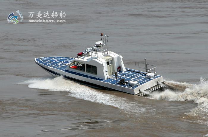 3A1206k(猎 刀II)单体高速巡逻艇