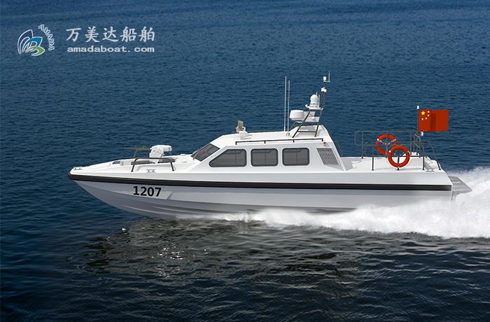 3A1207(乌 镝II)超高速拦截艇
