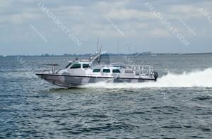 3A1234(鳄 鱼III)沿海高速巡逻艇