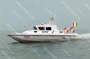 3A1312(大狼蛛)三体高速巡逻艇