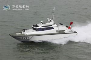 3A1354(猛 兽)沿海高速防弹巡逻艇