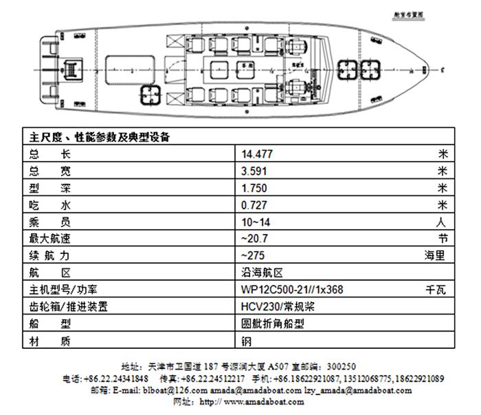 1392(冀 航)航政执法艇