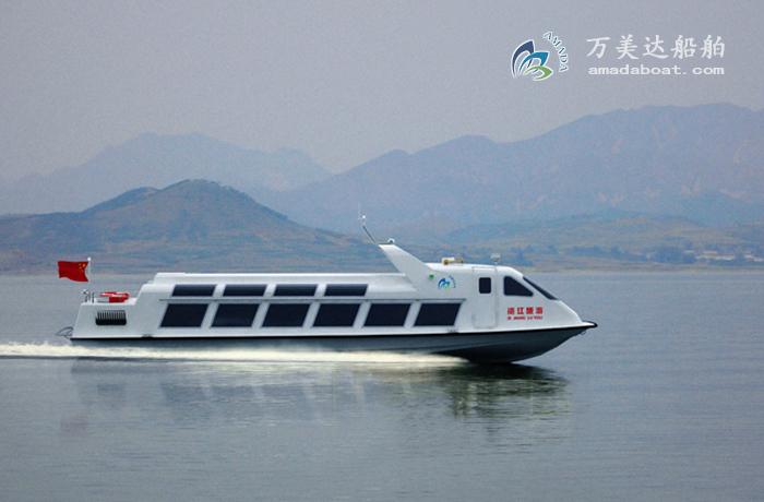 3A1408(资 江)单体浅吃水观光船
