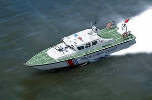 3A1462(湛 卢Ⅱ)海警高速巡逻艇