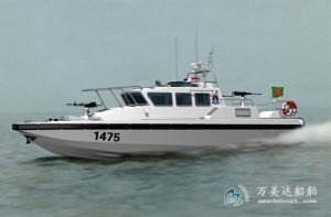 3A1475e(猎 鹰II)沿海高速防弹巡逻艇
