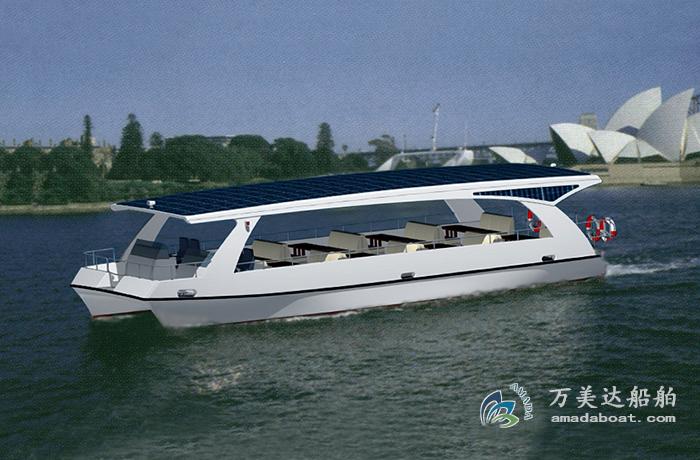 3A1511(日 冕)双体太阳能观光游览艇