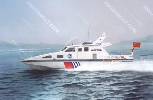 3A1567(前 卫)三体消波巡逻艇