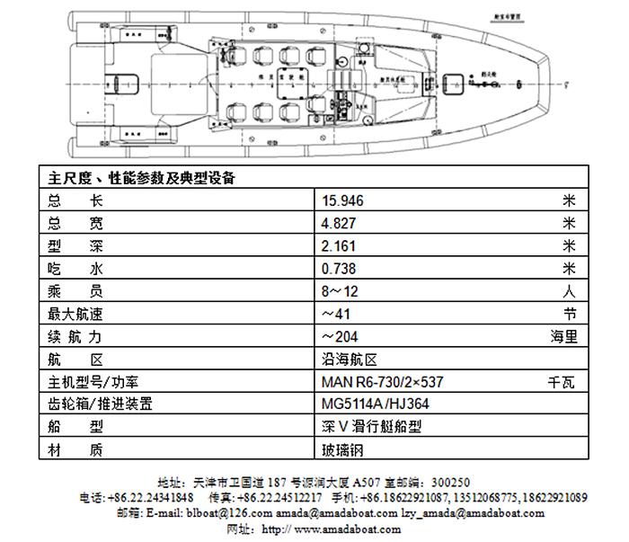 1580b(无畏)海事救助巡逻艇