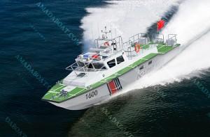 3A1600(七星剑)沿海高速巡逻艇