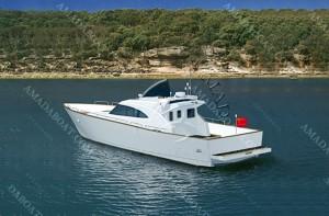 3A1628(红 螺)沿海游钓艇