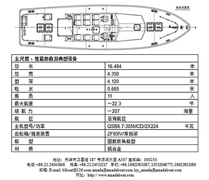 1649c(先 驱II)沿海引航艇
