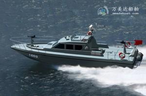 3A1669(白 鲨)超高速巡逻艇