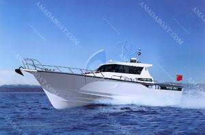 3A1679(鱼 鸥)休闲游钓艇