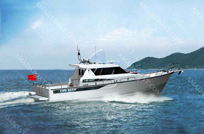 3A1686(鱼 鸥III)休闲游钓艇