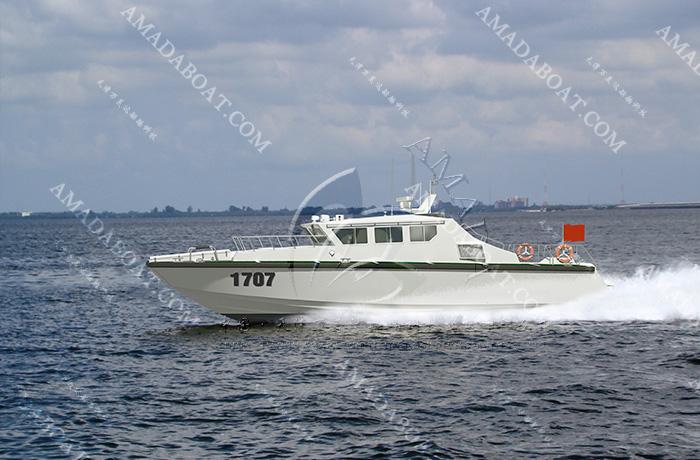 3A1707(寒 光)海警高速巡逻艇