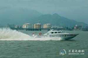 3A1708(烈 焰II)超高速巡逻艇