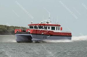 3A1735(海麒麟)双体风电运维船