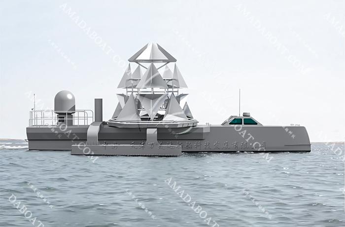 3A1800(湛 江)三体无人靶船