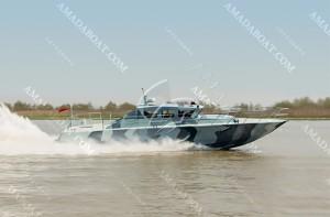 3A1807(狂 飙)沿海超高速巡逻艇