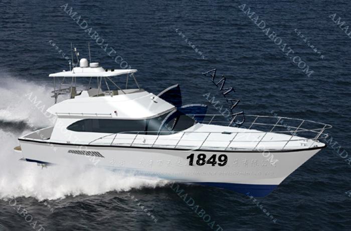 3A1849(传 奇)沿海豪华游钓艇