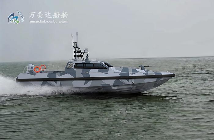 3A1855b(虎 鲨II)高速无人艇