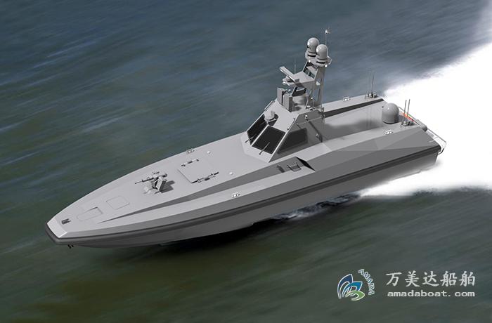 3A1855c(狼 王II)高速无人导弹艇
