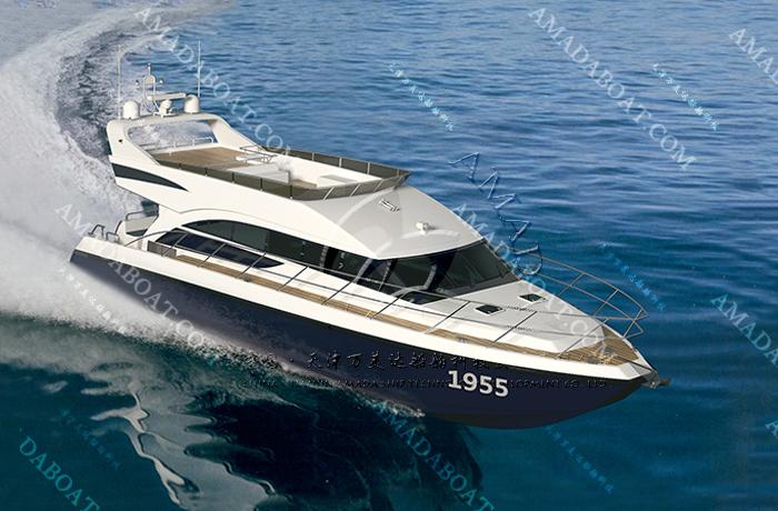 3A1955b(南 海II)双体高速观光船