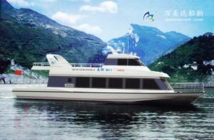 3A1981(金 湖)单体观光船