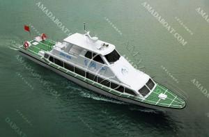 3A1981b(金 湖Ⅱ)52客单体观光船