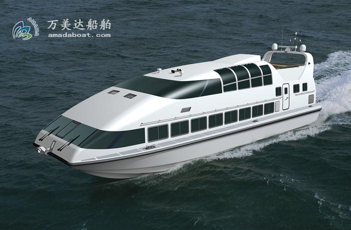 3A1983c(银 梭Ⅲ)三体消波客船