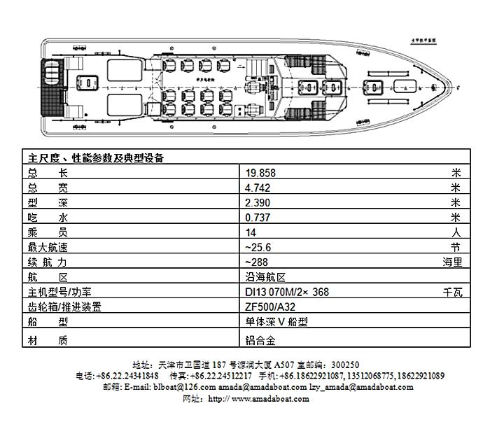 1986(乐航)高速引航工作船