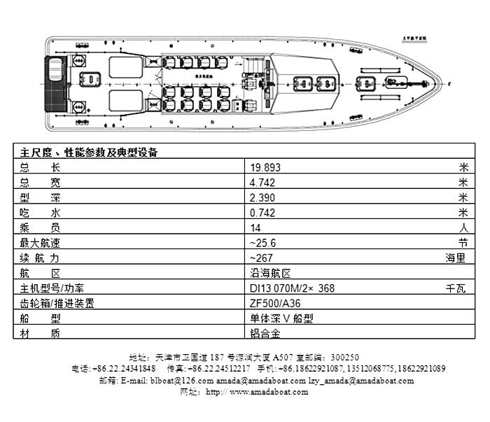 1989(先行)铝合金交通艇