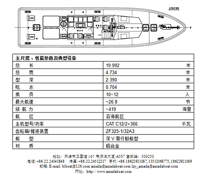 2000(乐航II)高速引航工作船