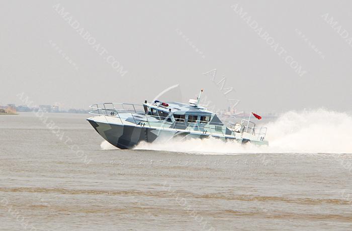 3A2002b(天 行II)沿海高速巡逻艇